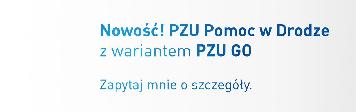 Agentpzu.pl – Nowość! PZU Pomoc w Drodze z wariantem PZU GO
